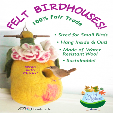 Fair Trade Birdhouses